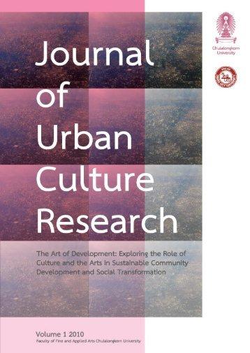 Journal of Urban Culture Research - Cujucr.com