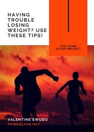 Having Trouble Losing Weight Use These Tips!