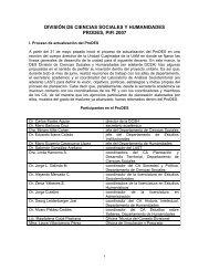 ProDES 2007 - UAM Unidad Cuajimalpa