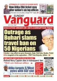 14102018- Outrage as Buhari slams travel ban on 50 Nigerians