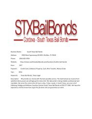South Texas Bail Bonds