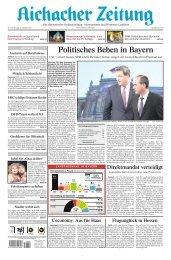Aichacher Zeitung - Landtagswahl