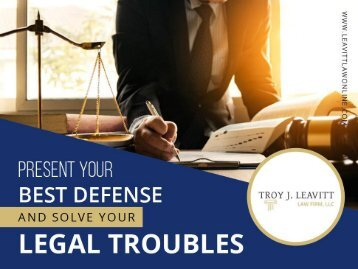 Reasons to Hire Criminal Defense Attorney in Blue Springs
