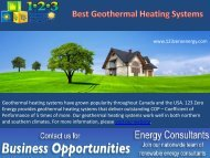 Best Geothermal Heating Systems