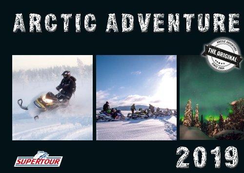 Supertour Katalog 2019 (Arctic Adventure)