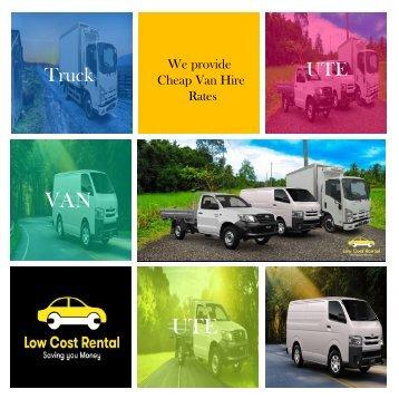 Moving Van Rental -LowCostRental