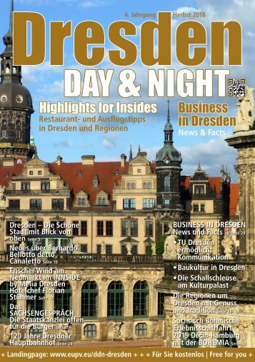 Dresden Day&Night | Herbst 2018 | 4. Jahrgang