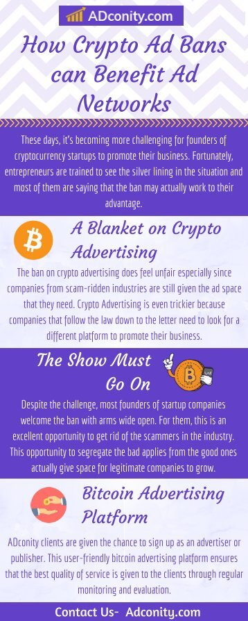Best Bitcoin Advertising Network   Adconity