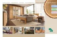 schlafen · wohnen · essen - Möbel und Holzprodukte