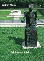 Dietrich Klinge - Arbeiten aus 20Jahren