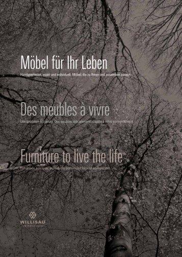 Möbel für Ihr Leben Des meubles à vivre Furniture to ... - Edilportale