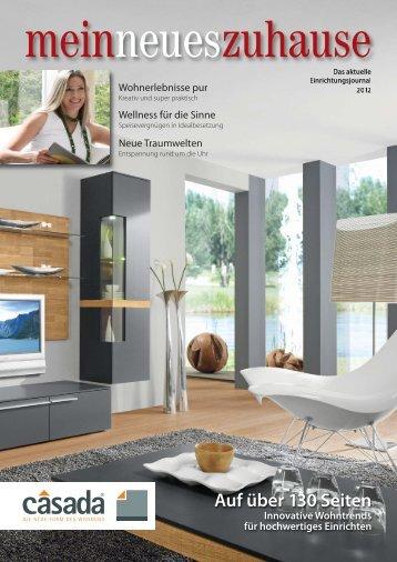 Auf über 130 Seiten Innovative Wohntrends für ... - Möbel Rachinger