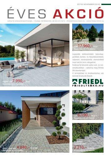 Friedl éves akció 2018