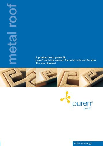 A product from puren M - puren gmbh insulation