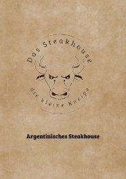 Speisekarte Das Steakhouse Lohne 10. Okt. 2018