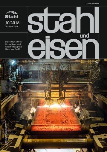 Leseprobe stahl und eisen 10/2018