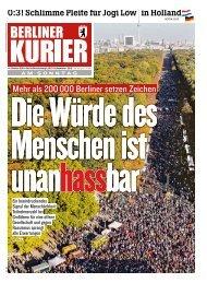 Berliner Kurier 14.10.2018