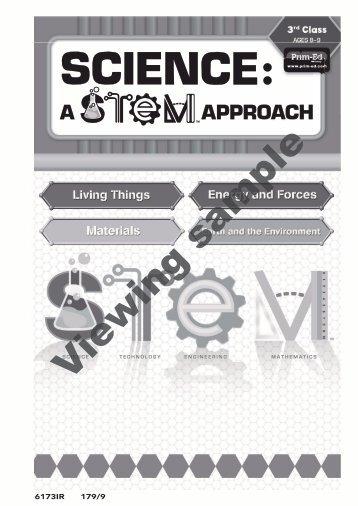 PR-6173IRE Science A STEM Approach - 3rd Class