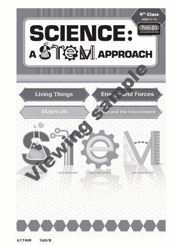 PR-6174IRE Science A STEM Approach - 4th Class