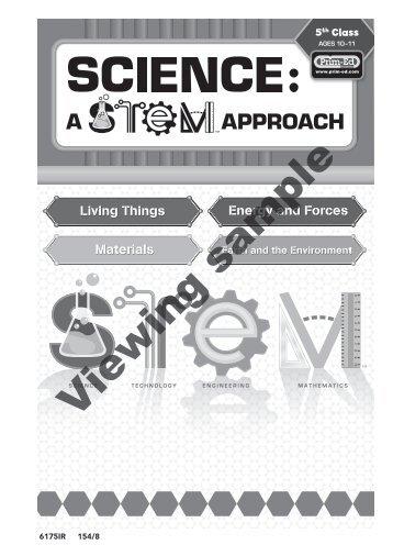 PR-6175IRE Science A STEM Approach - 5th Class