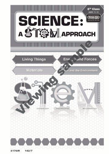 PR-6176IRE Science A STEM Approach - 6th Class