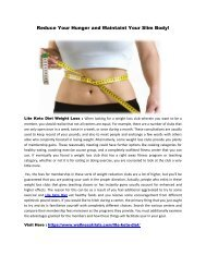 Lite Keto Diet : Increase Your Metabolism Rate To Burn Extra Fat From Body!