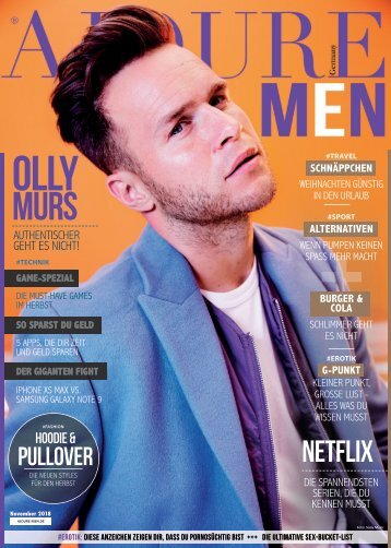 AJOURE´ Men Magazin November 2018