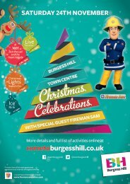 WITH SPECIAL GUEST FIREMAN SAM saturday 24th november