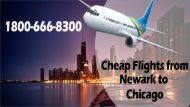 How to approach for cheap flights from Newark to Chicago?