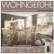Schöne Möbel • Schönes Leben - Wohngefühl Klein Rönnau