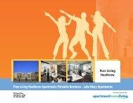 Pure Living Heathrow Apartments Printable Brochure - Lake Mary ...
