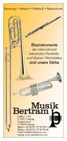 Kursprogramm 2019 - BDB-Musikakademie - Seite 2