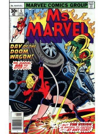 Ms. Marvel #5 - Desconocido