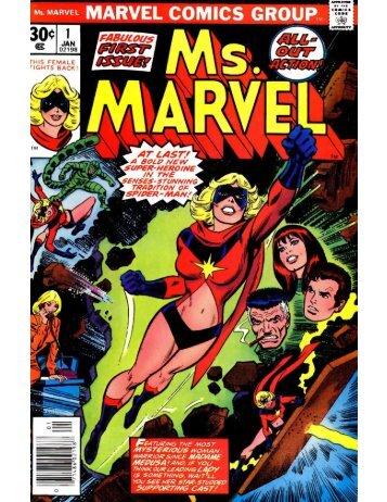 Ms. Marvel #1 - Desconocido