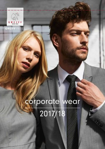 Greiff corporate wear 2018