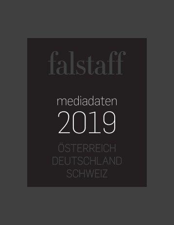 Falstaff Mediadaten 2019