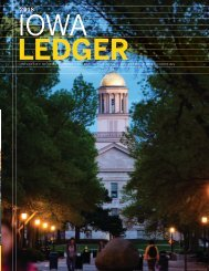 Iowa Ledger (2018) - Tippie College of Business