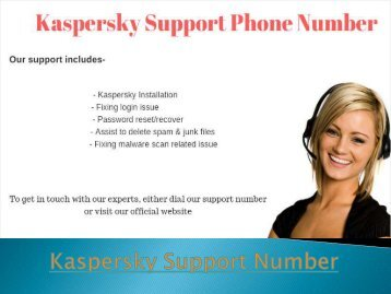 Kaspersky Support & Customer Service Number
