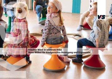 Frischer Wind in unserem KiGa. Neue Möbel für kindgerechte ...