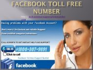 Facebook Toll Free Number-converted