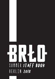 Summer Staff Book - Berlin 2018