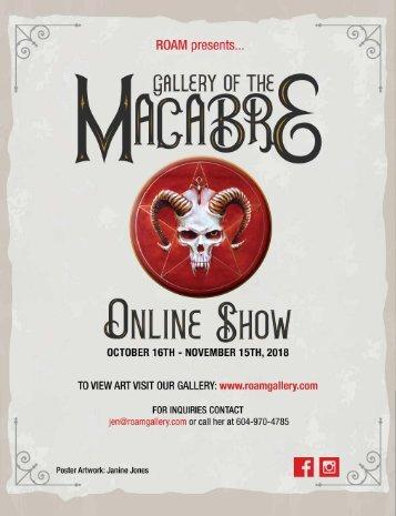 Macabre Catalogue 2018
