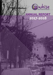 WHISE Annual Report 2017-2018