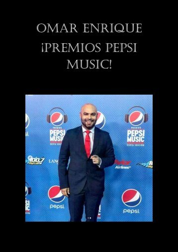 Omar Enrique - Pepsi Music