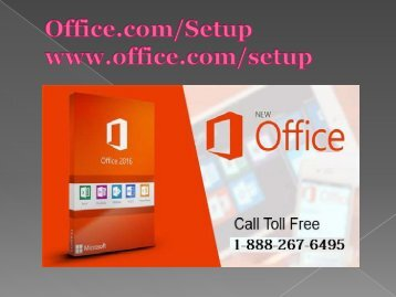 Office.com/setup - Redeem Office Setup Product Key