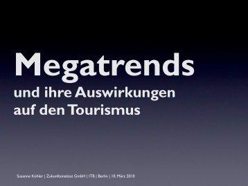 Megatrends und ihre Auswirkungen auf den Tourismus - Destination ...