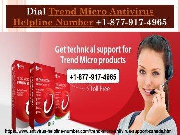 Dial Trend-Micro Antivirus Helpline Number +1-877-917-4965
