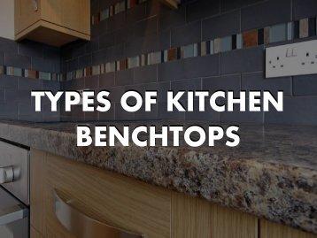 Type of Kitchen Benchtops - ABA Stone