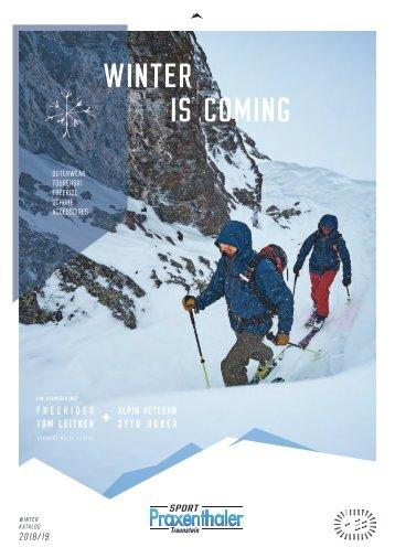 Winterkatalog Sport Praxenthaler 2018/19