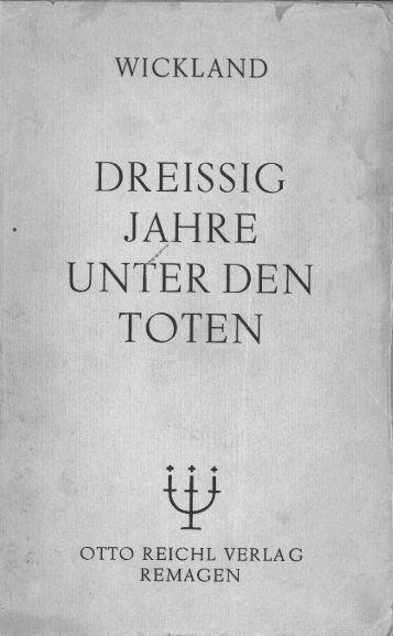 Dreissig Jahre unter den Toten_1924